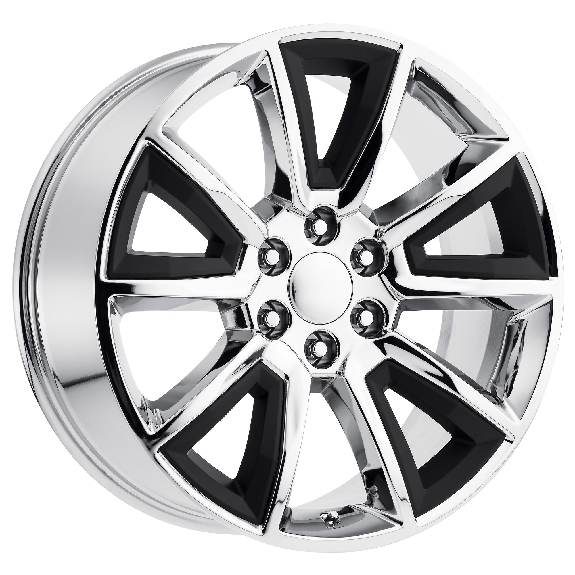 OE Creations Replica Wheels OE Creations PR168 Chrome w/ MB Accents