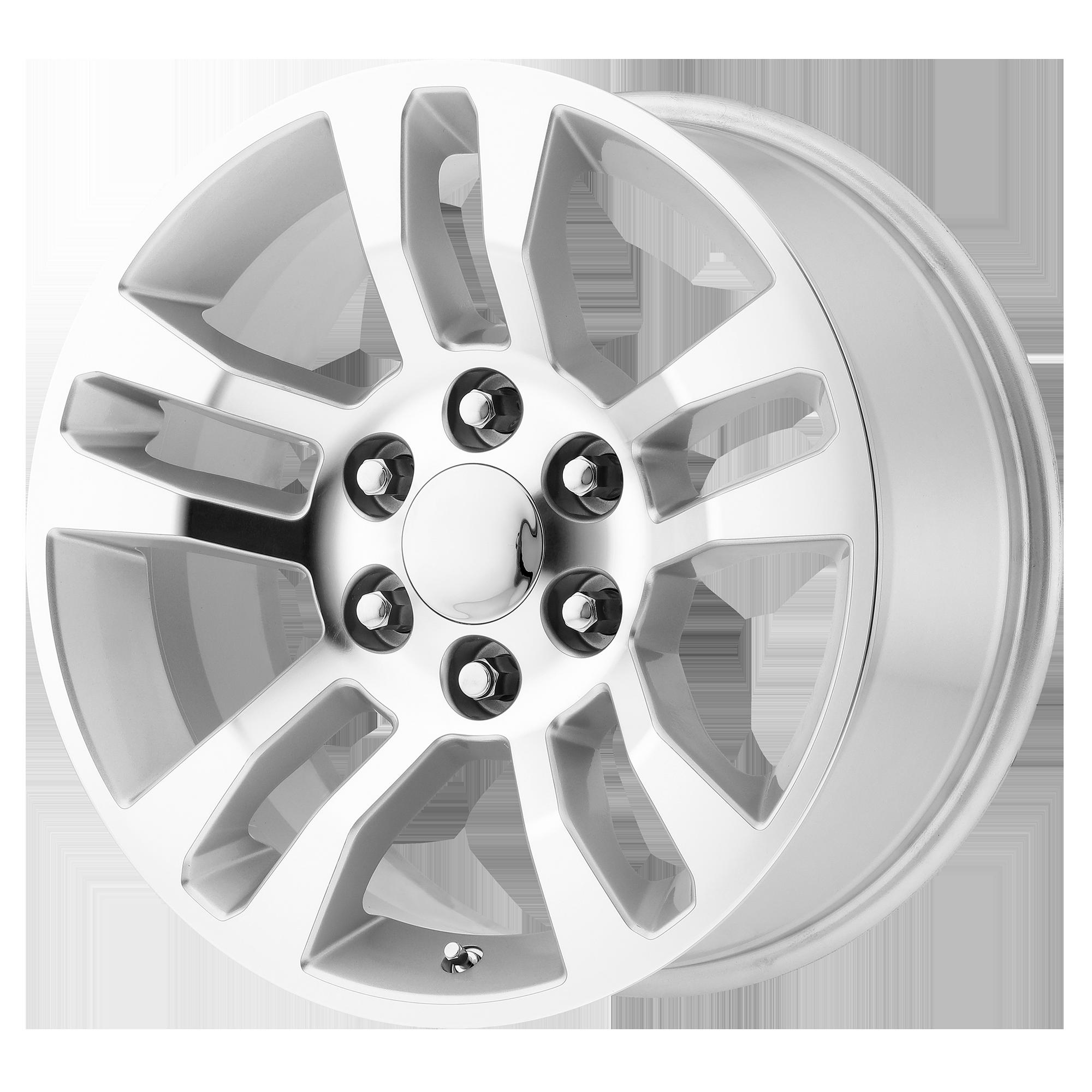 OE Creations Replica Wheels OE Creations PR175 Silver Machined