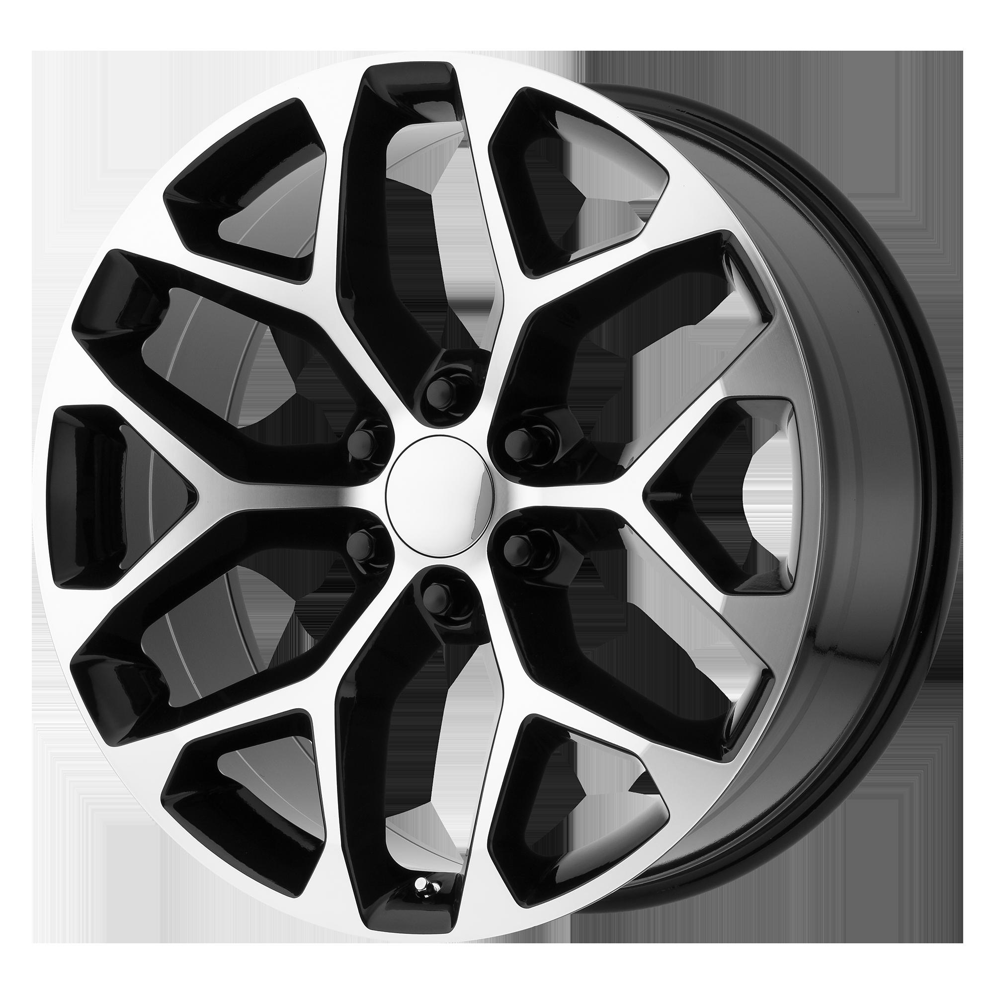 OE Creations Replica Wheels OE Creations PR176 Gloss Black Machined