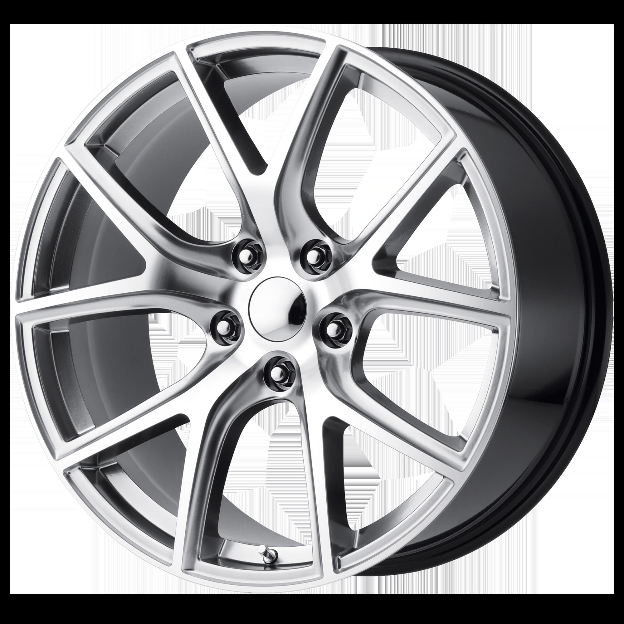 OE Creations Replica Wheels OE Creations PR181 Hyper Silver Machined