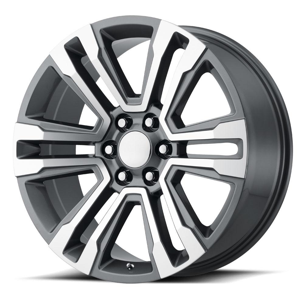 OE Creations Replica Wheels OE Creations PR182 Gunmetal Machined