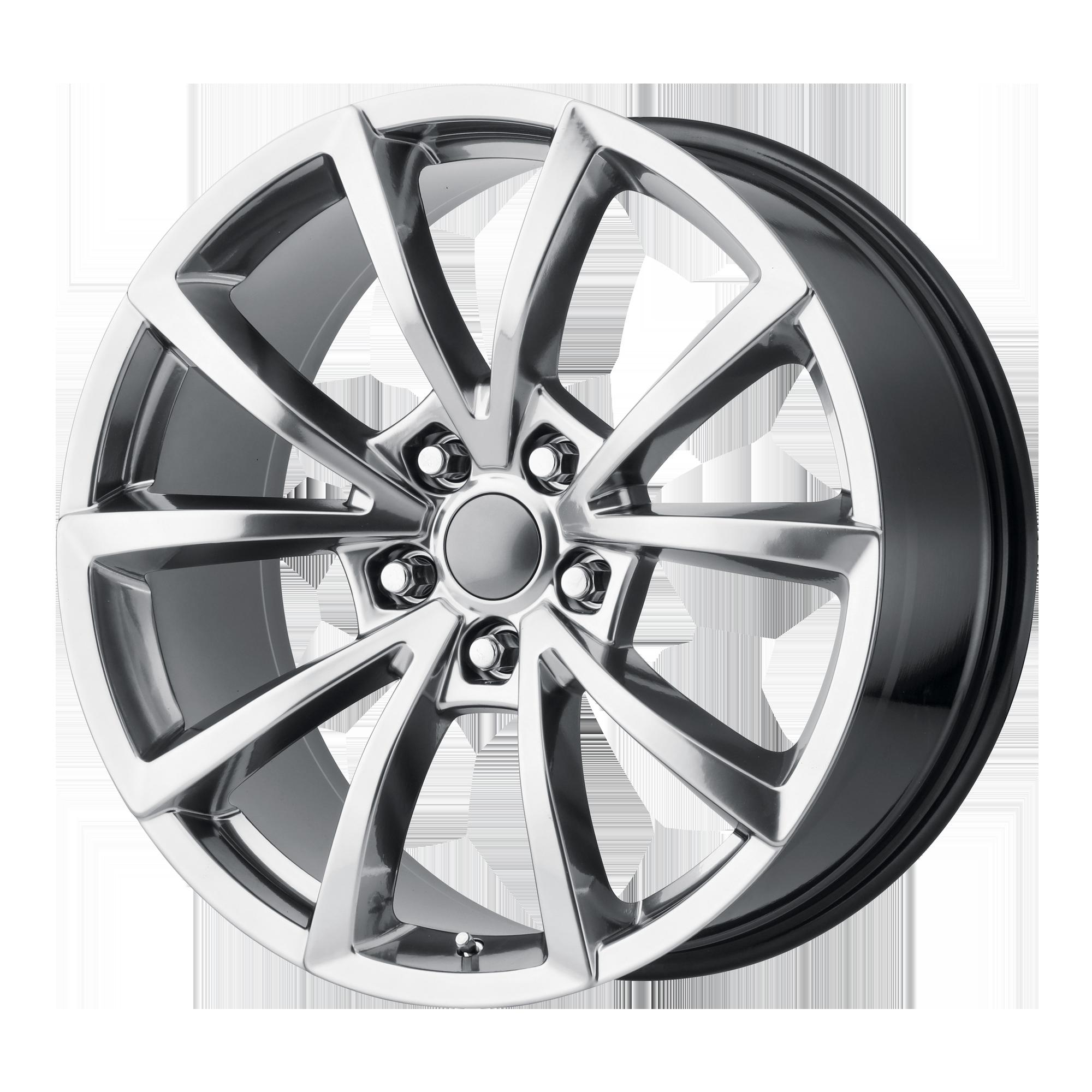 OE Creations Replica Wheels OE Creations PR184 Hyper Silver Dark
