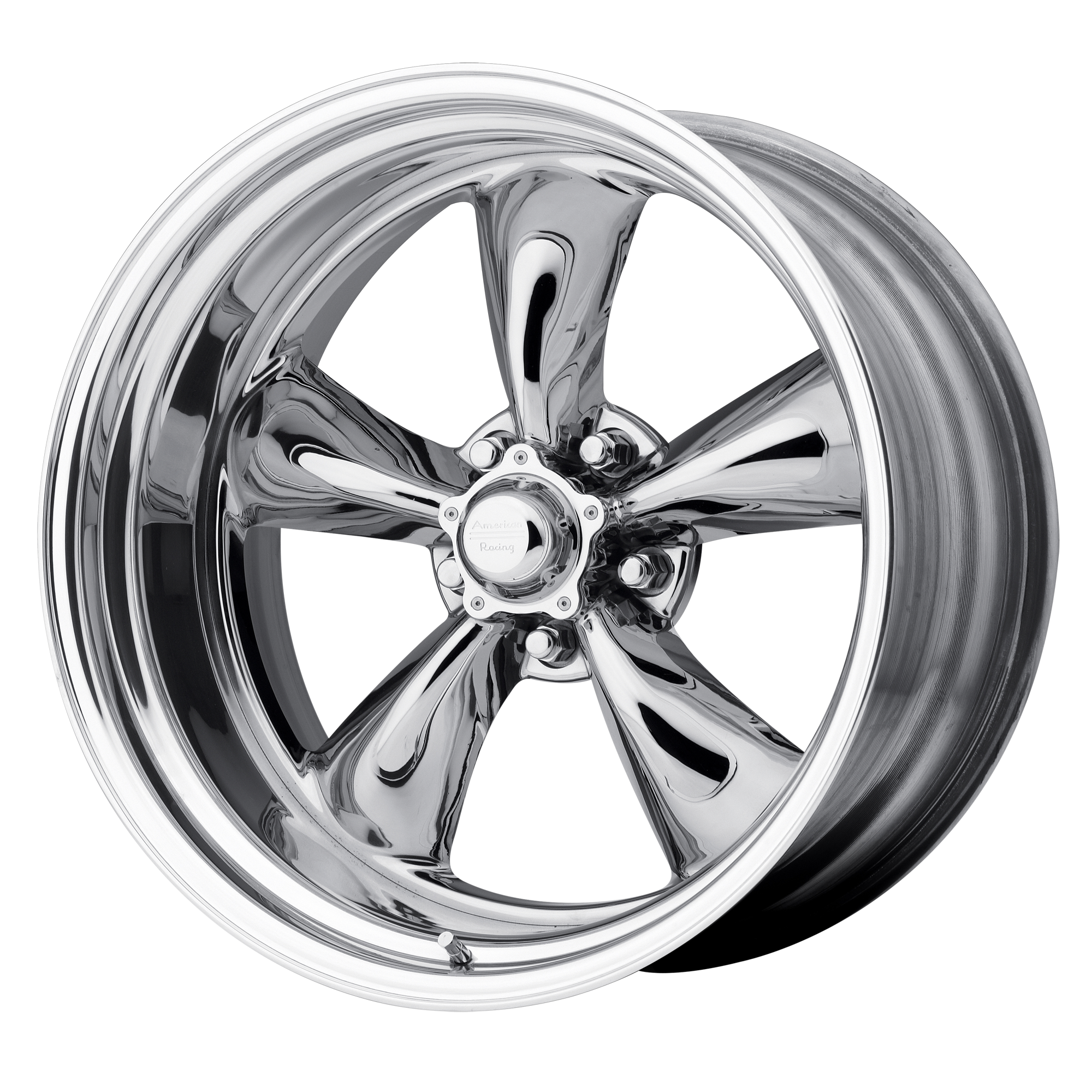 American Racing Wheels VN405 CUSTOM TORQ THRUST Polished