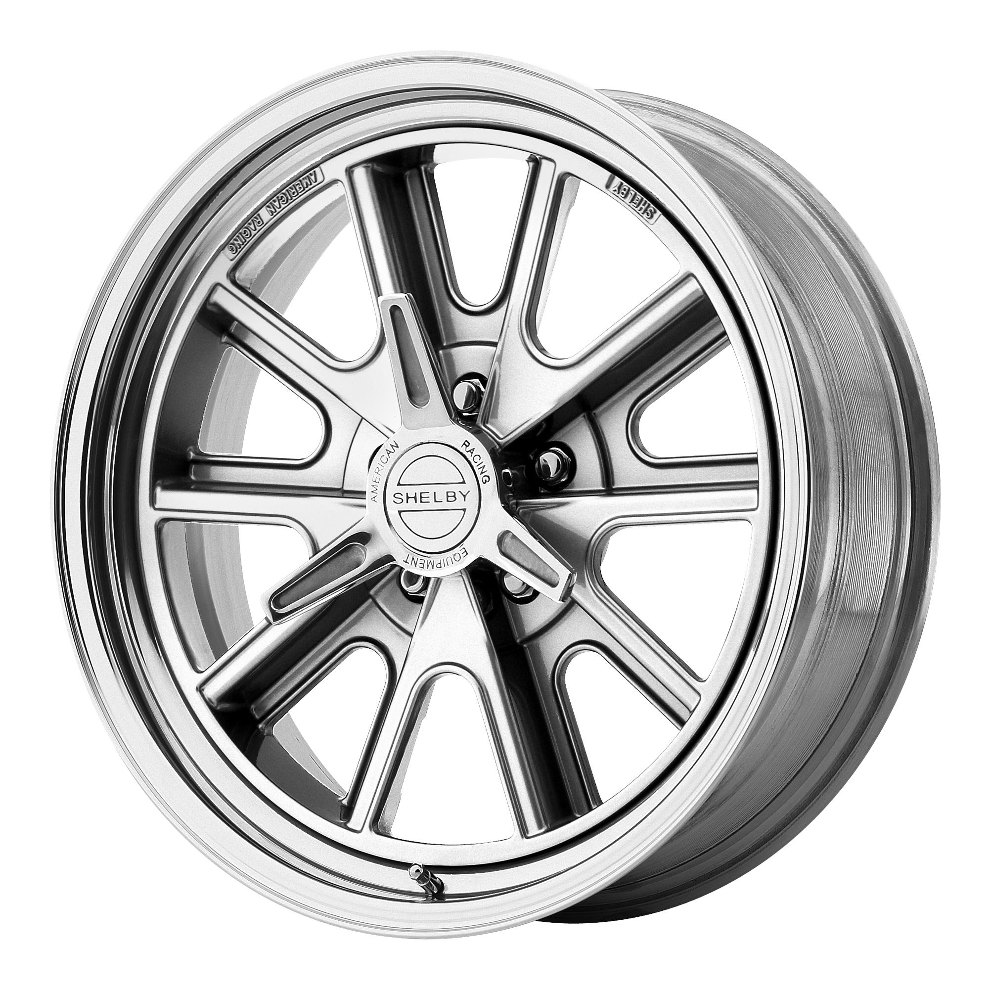 American Racing Wheels VN427 SHELBY COBRA Polished