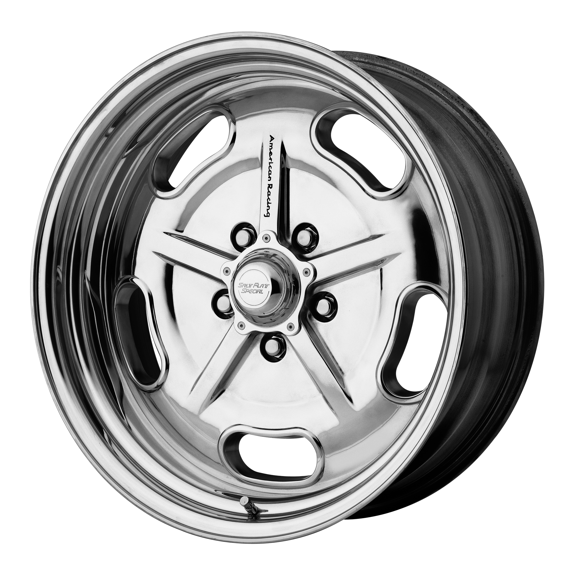 18x10 American Racing Wheels VN471 SALT FLAT SPECIAL Polished