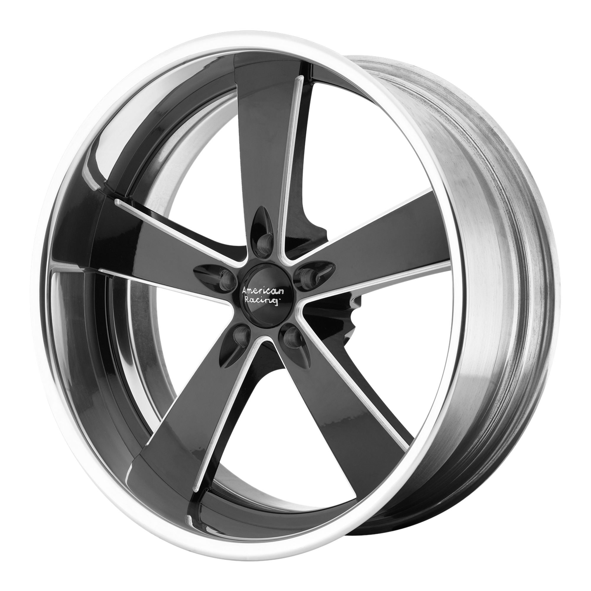 American Racing Wheels VN472 BURNOUT Black