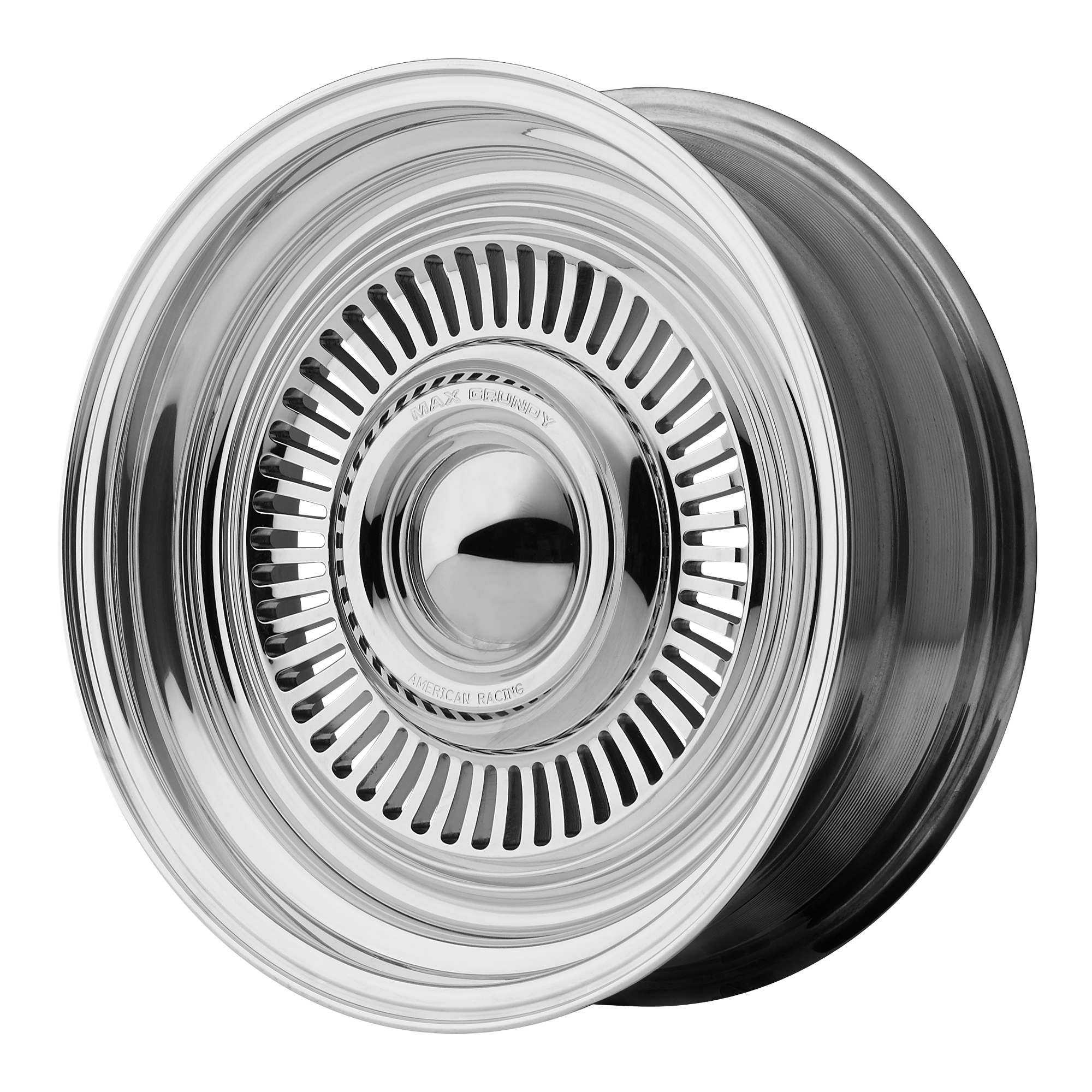 17x7 American Racing Wheels VN478 TURBINE Polished