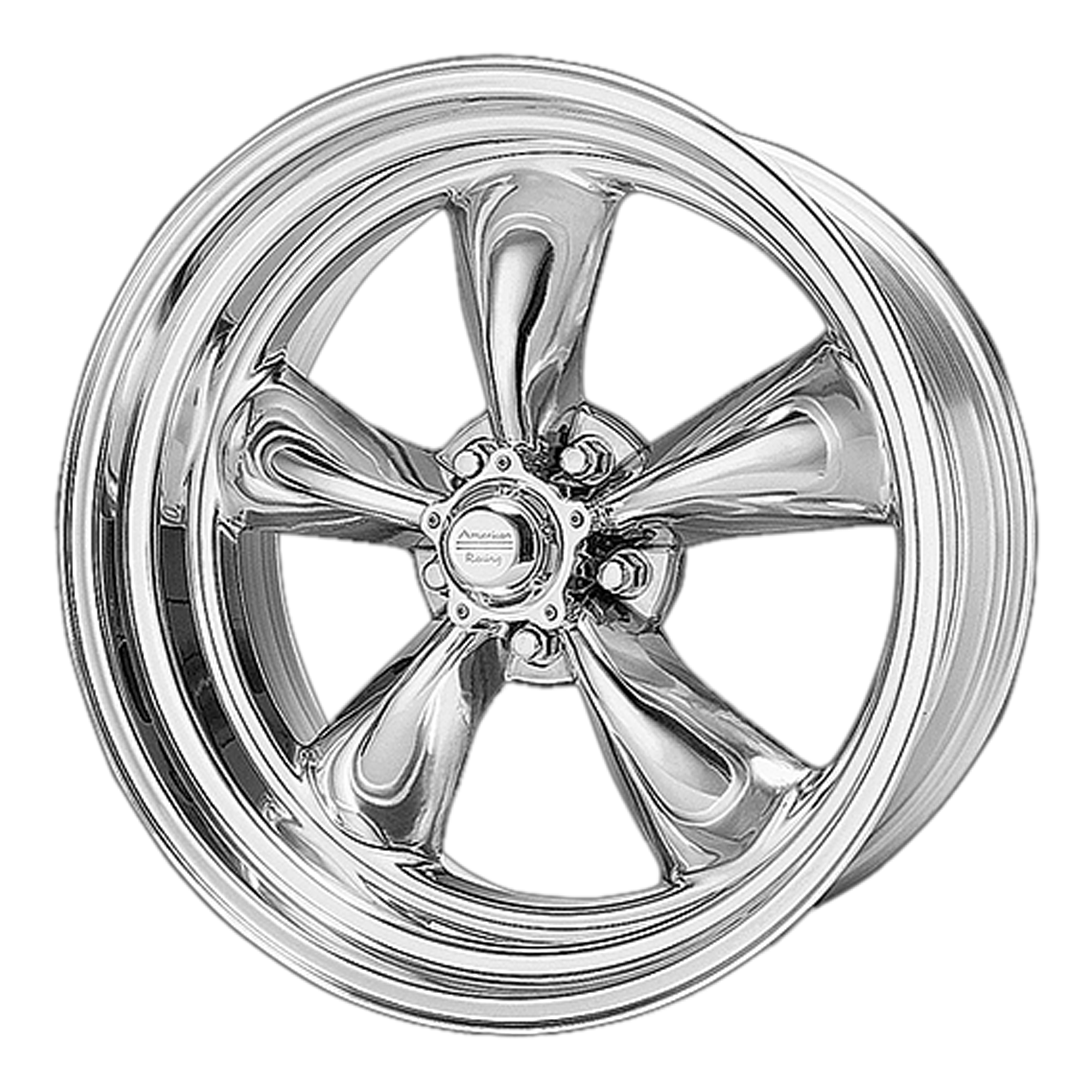 American Racing Wheels VN505 TORQ THRUST II Polished