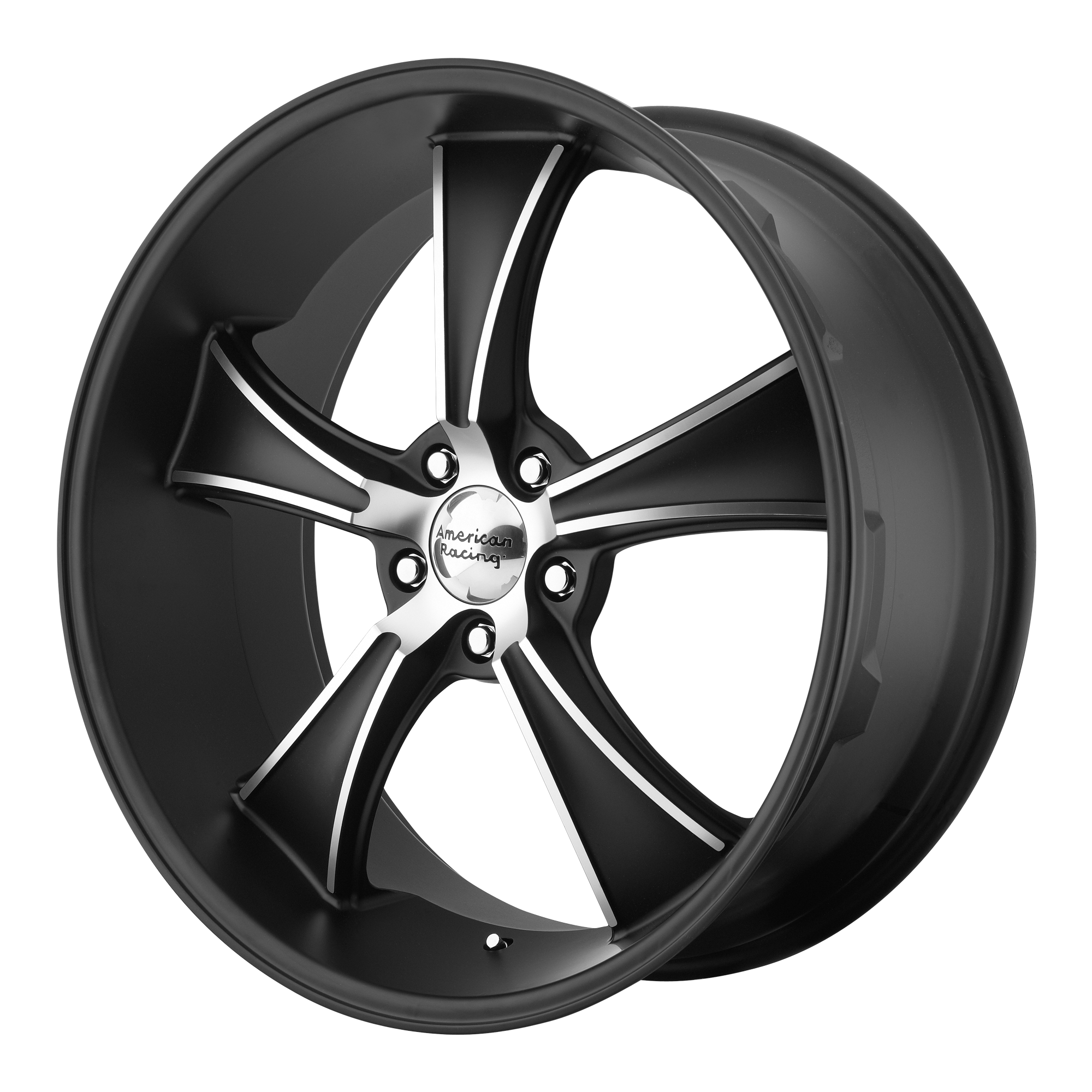American Racing Wheels VN805 BLVD Machined