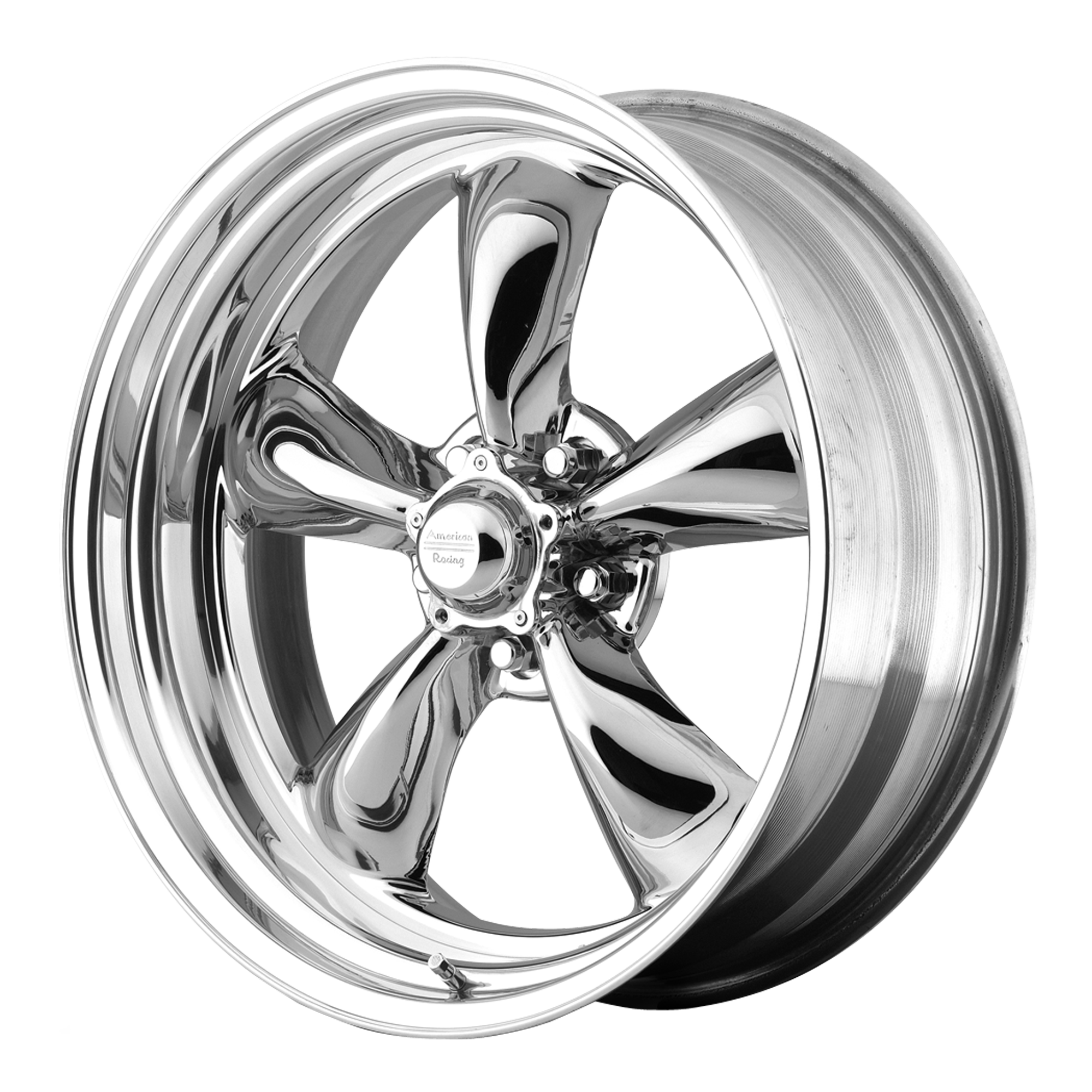 American Racing Wheels VN815 TORQ THRUST II 1 PC Chrome