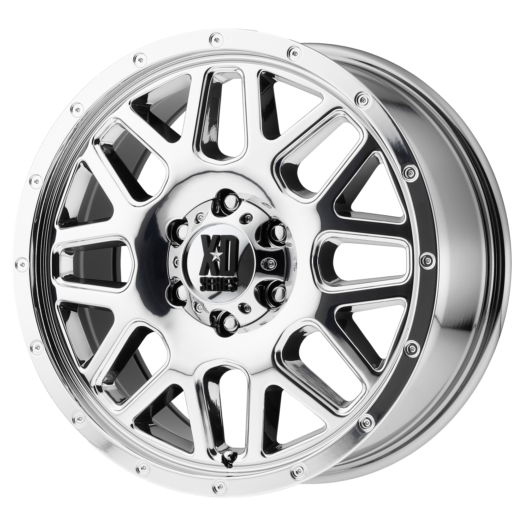 XD Series by KMC Wheels GRENADE Chrome