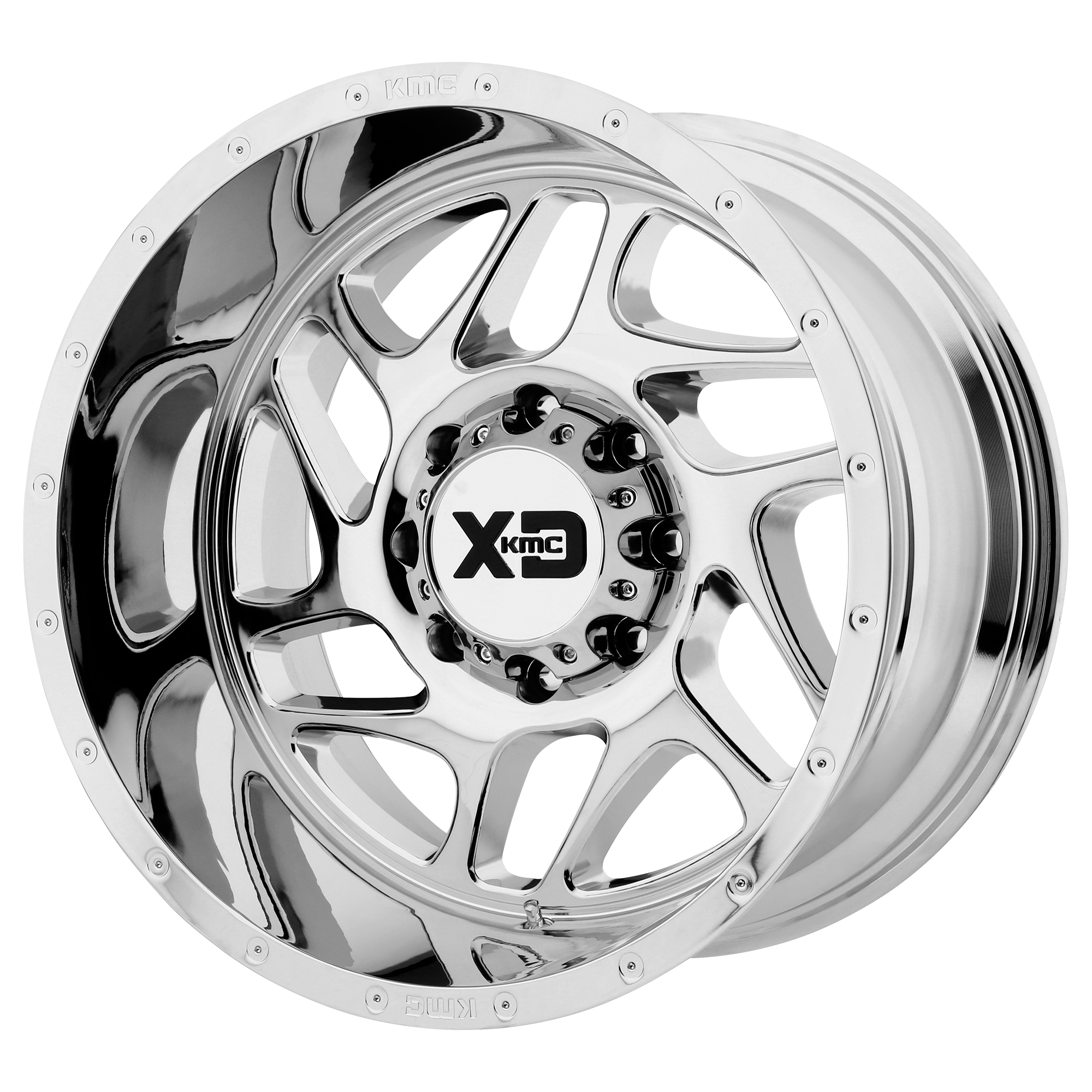 XD Series by KMC Wheels FURY Chrome