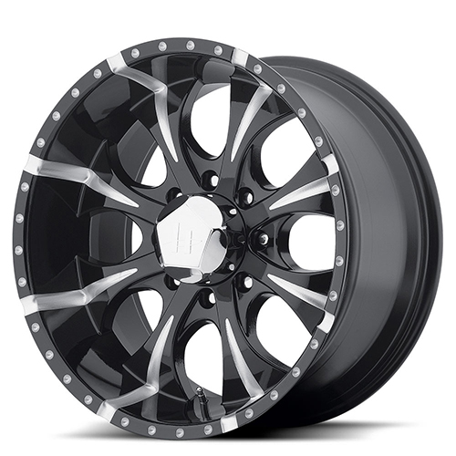 HE791 Maxx Gloss Black Milled