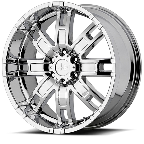 Helo Wheels HE835 Chrome Plated