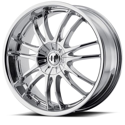 Helo Wheels HE845 Chrome Plated
