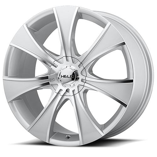 Helo Wheels HE874 Dark Silver W/ Mach Face
