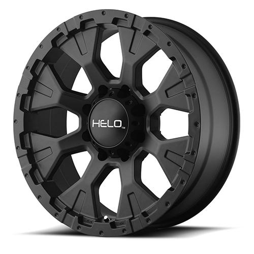 Helo Wheels HE878 Satin Black