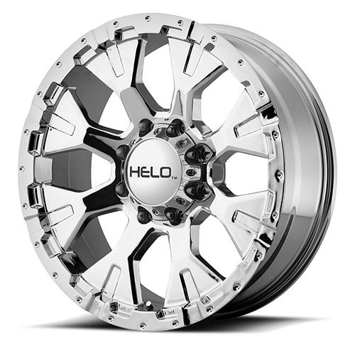 Helo Wheels HE878 Chrome Plated