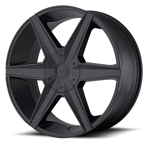 Helo Wheels HE887 Satin Black