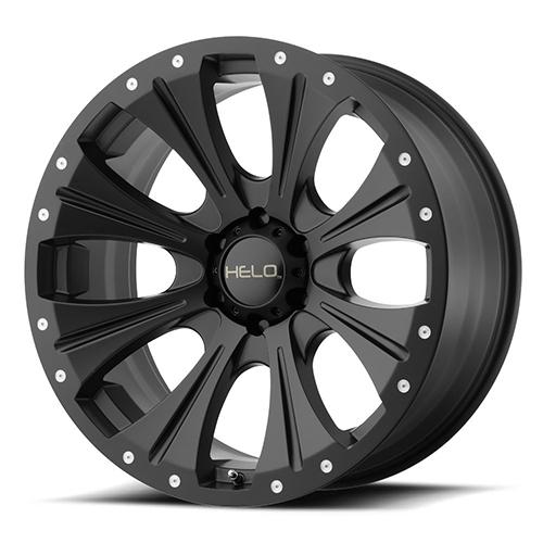 Helo Wheels He901 Satin Black
