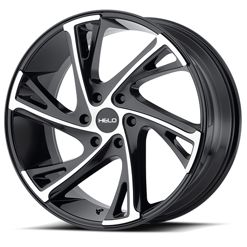 Helo Wheels He903 Gloss Black Machined