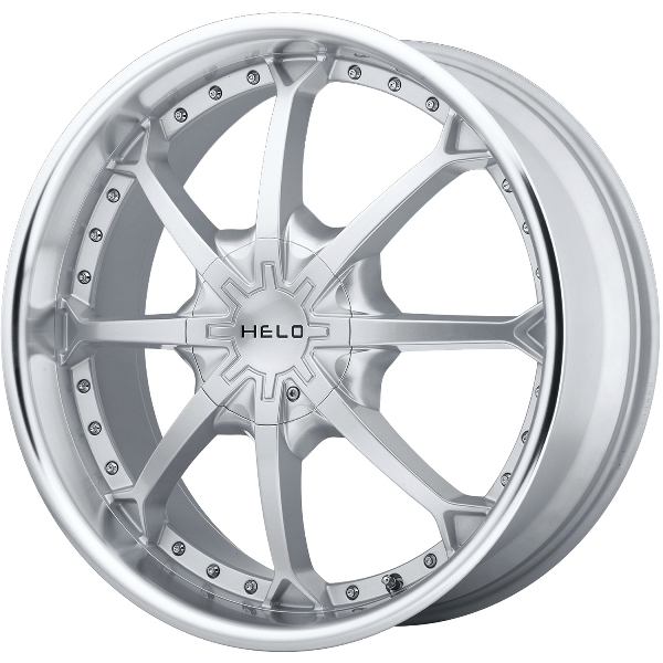- Wheel Specials - Helo Wheels HE871 Silver/Mach