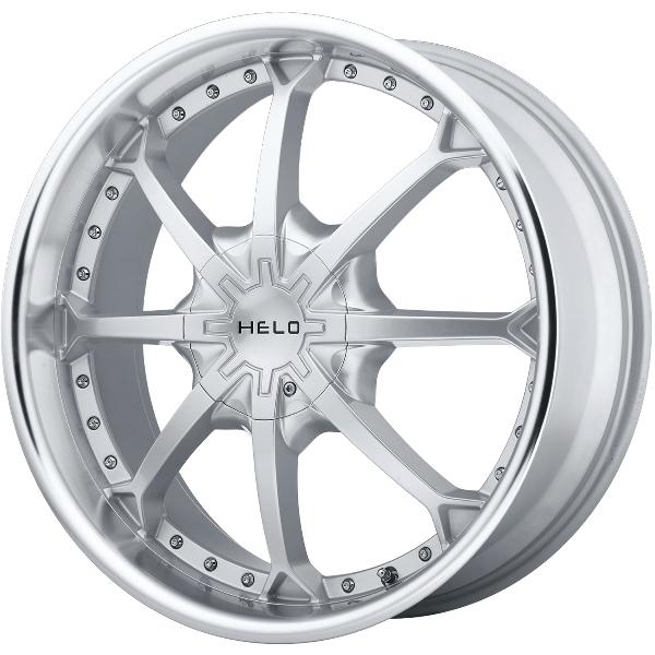 - Wheel Specials - Helo Wheels HE871 Silver/Mach