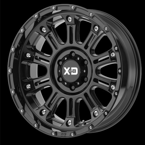 XD Series by KMC Wheels Hoss 2 Gloss Black