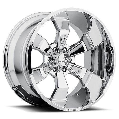 Hostile Offroad Wheels Hammered Armor Plated