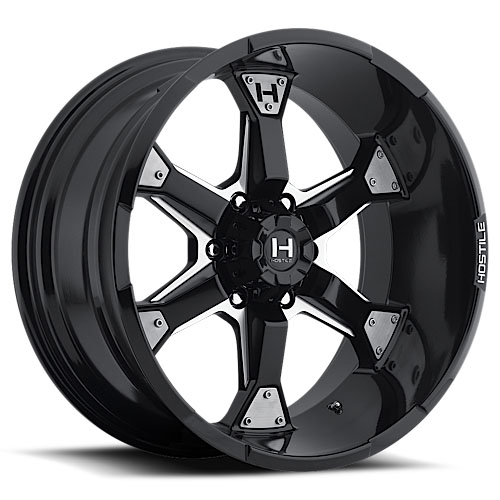 Hostile Offroad Wheels KNUCKLES Blade Cut