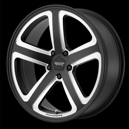 American Racing Wheels Hot Lap Satin Black Milled
