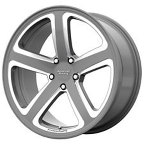 American Racing Wheels Hot Lap Satin Gray Milled