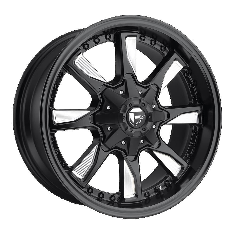 Fuel Offroad Wheels Hydro Black Milled
