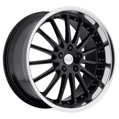 19x9.5 Coventry Wheels Whitley Black