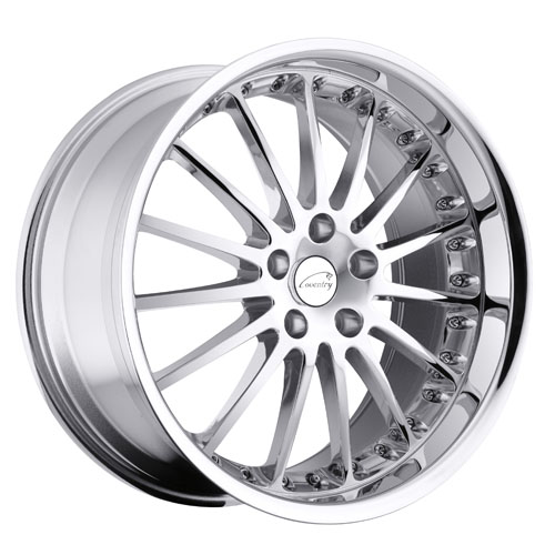 Coventry Wheels Whitley Chrome