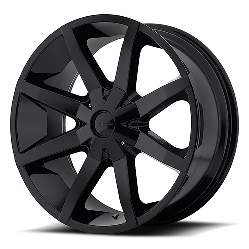 KMC Wheels KM651 Slide Gloss Black With Clearcoat