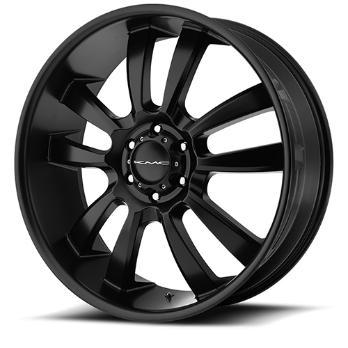 KMC Wheels KM673 Skitch Satin Black