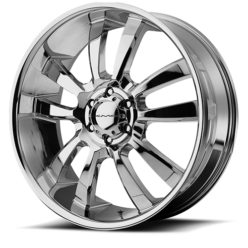 KMC Wheels KM673 Skitch Chrome Plated