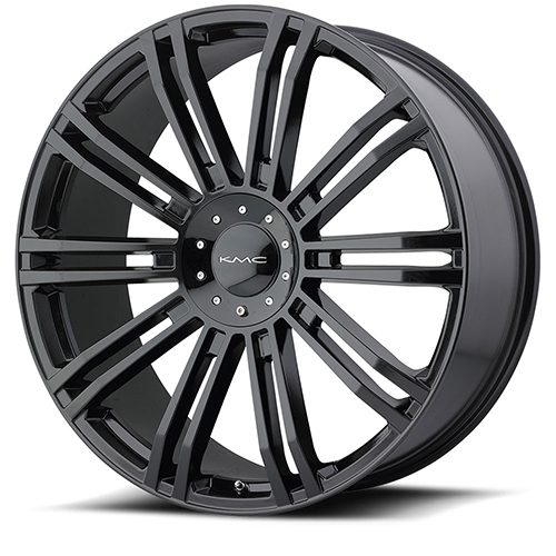 KMC Wheels KM677 D2 Gloss Black