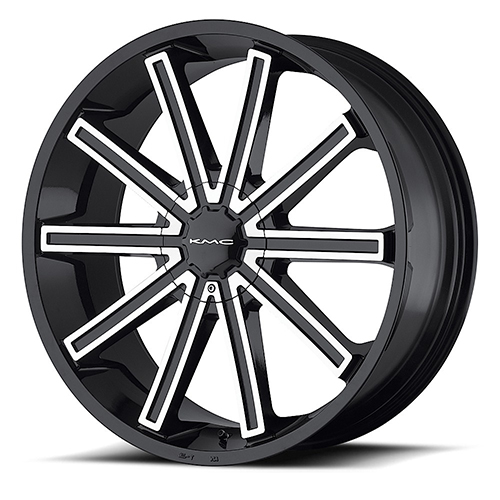 KMC Wheels KM681 Nerve Gloss Black Machined