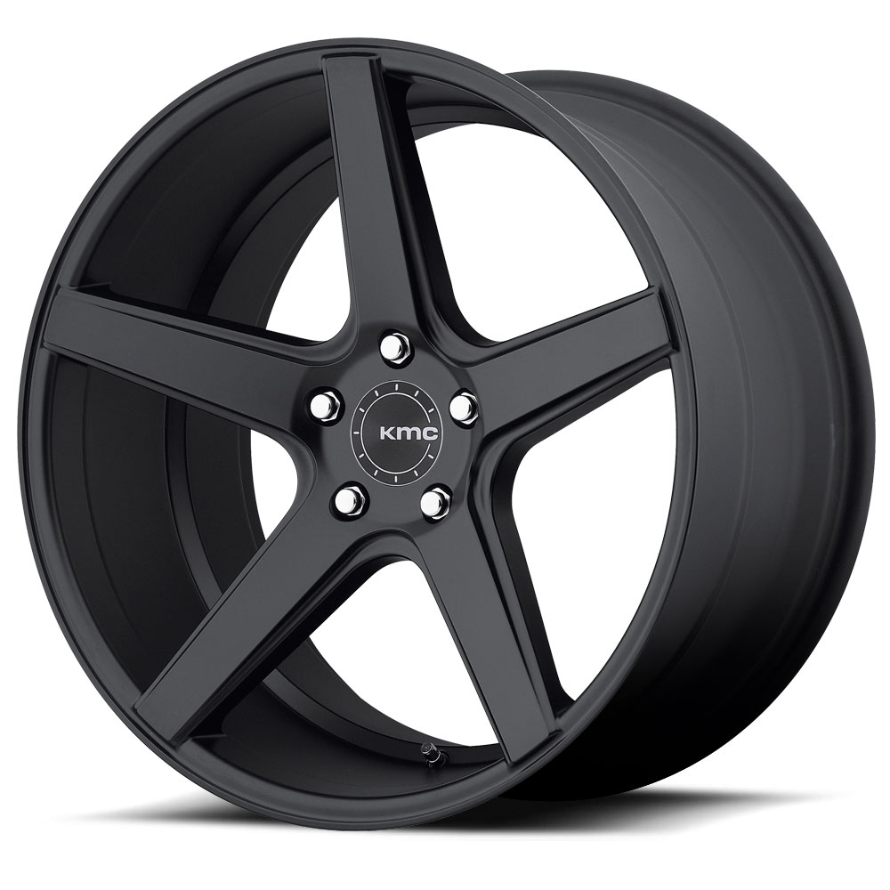 KMC Wheels KM685 District Satin Black