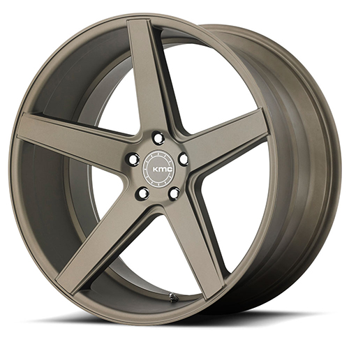 KMC Wheels KM685 District Matte Bronze