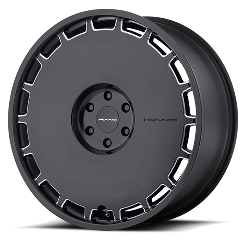 KMC Wheels KM689 Skillet Satin Black Milled