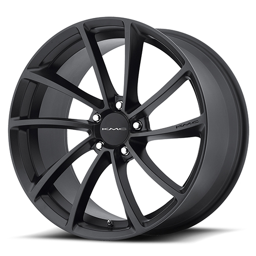 20x10 KMC Wheels KM691 Spin Satin Black