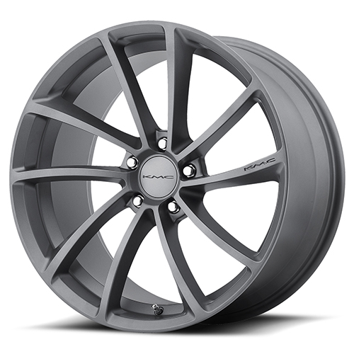 KMC Wheels KM691 Spin Gun Metal