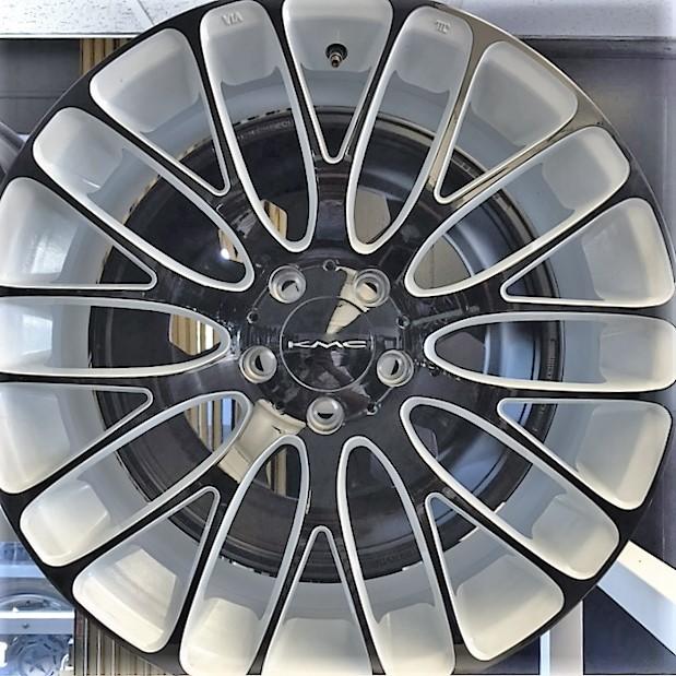 - Wheel Specials - KMC Wheels KM693 MAZE White/Black
