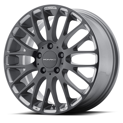 KMC Wheels KM693 Maze Pearl Gray W/ Gloss Black Face