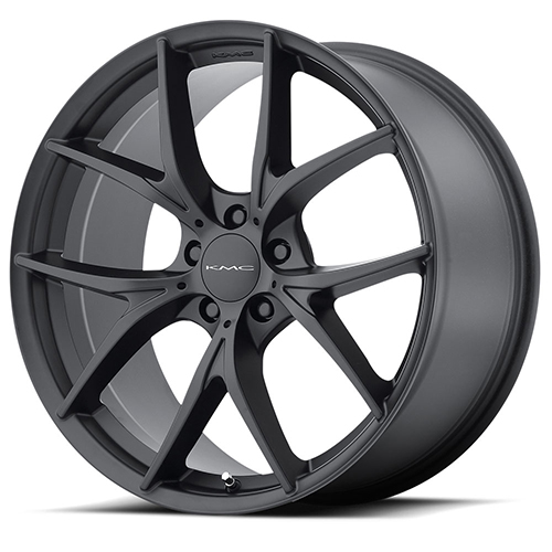 KMC Wheels KM694 Wishbone Satin Black