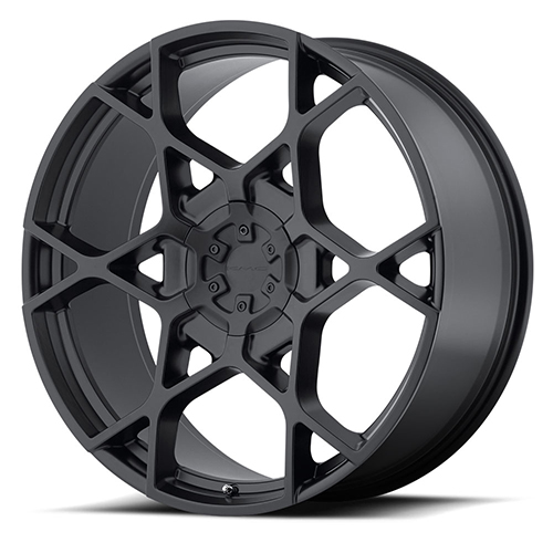 KMC Wheels KM695 Crosshair Satin Black