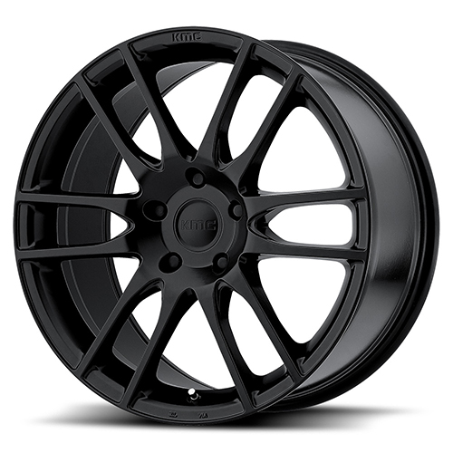 KMC Wheels KM696 Pivot Satin Black